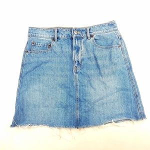 Womens Old Navy Mini Jean Skirt Size 6